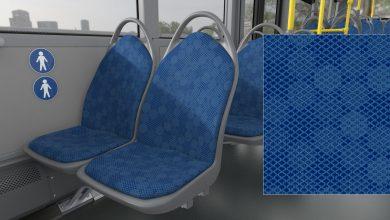 Mieszkańcy Bielska wybrali kolor foteli w autobusach. Fot. UM Bielsko-Biała