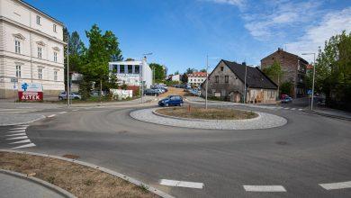 Bolek i Lolek patronami ronda w Bielsku-Białej (fot.UM Bielsko-Biała)