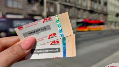 Bilety w Bielsku... uśmiechają się do mieszkańców. Fot. UM Bielsko-Biała
