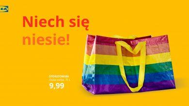 IKEA wspiera osoby LGBT+. Torba, jako symbol szacunku dla tych osób do kupienia w sklepach (fot.IKEA)