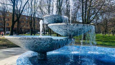 Tak wygląda fontanna za 0,5 mln zł. Można ją oglądać w Tychach. Fot. UM Tychy