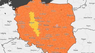 Ostrzeżenia meteo przed upałem, ale także przed BURZAMI! Trzeba uważać także na Śląsku! (fot.IMGW)