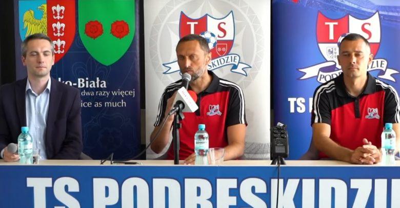Bielsko wjedzie do ekstraklasy tandemem? Piotr Jawny i Marcin Dymkowski nowymi trenerami Podbeskidzia (fot.Podbeskidzie Bielsko-Biała)
