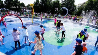 Choć pogoda jest jeszcze mocno wiosenna, to kolejne miasta uruchamiają wodne place zabaw. W Chorzowie w Dzień Dziecka otwarto pierwszy tego typu obiekt w mieście