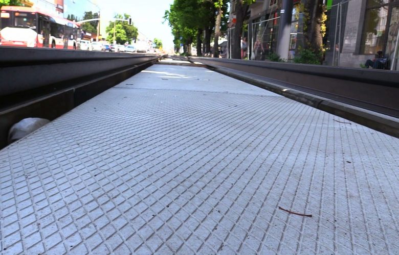 Takiego betonu chcemy jak najwięcej! Torowisko tramwajowe w Częstochowie będzie wchłaniało smog!