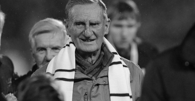 W wieku 82 zmarł Antoni Nieroba - jeden z najwybitniejszych piłkarzy Niebieski wszech czasów (fot.Ruch Chorzów)