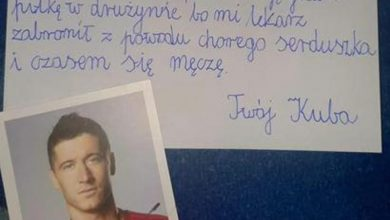 Chłopiec z Jaworzna napisał wzruszający list do Roberta Lewandowskiego. Zobacz odpowiedź!