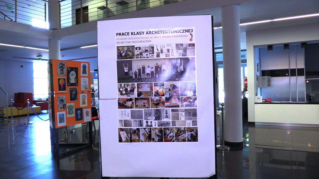ONI mogą zaprojektować kolejny NOSPR czy Muzeum Śląskie. Niesamowita wystawa w Wyższej Szkole Technicznej w Katowicach