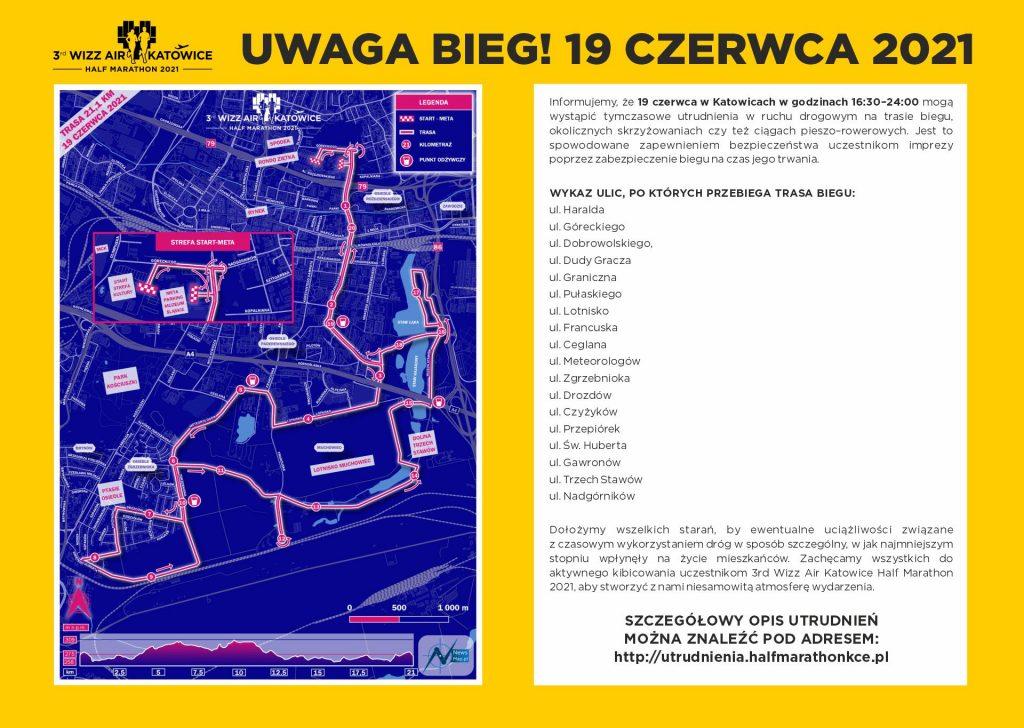 3rd Wizz Air Half Marathon Katowice, 19.06.2021