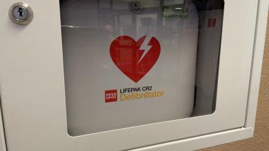 Gliwicka komenda policji ma swój własny defibrylator. Może uratować ludzkie życie (fot.KMP Gliwice)