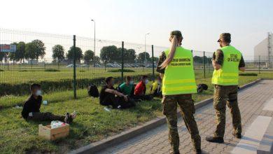 Gliwice: zamiast rowerów... 7 Afgańczyków [WIDEO]. Fot. Śląska Straż Graniczna