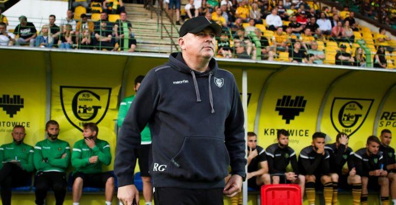 Rafał Górak pozostaje przy Bukowej. GKS nadal z tym samym trenerem (fot. GKS Katowice)