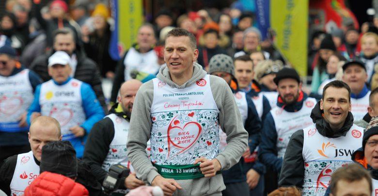 Cezary Trybański podczas 14. Biegu po Nowe Życie 2019 Wisła (fot.: materiały prasowe)