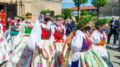 W Polsce obchody uroczystości Bożego Ciała zawdzięczamy, pochodzącemuz Brzozowic- dzielnicy Piekar Śląskich- biskupowi Nankierowi. [for. UM Bytom / Hubert Klimek]