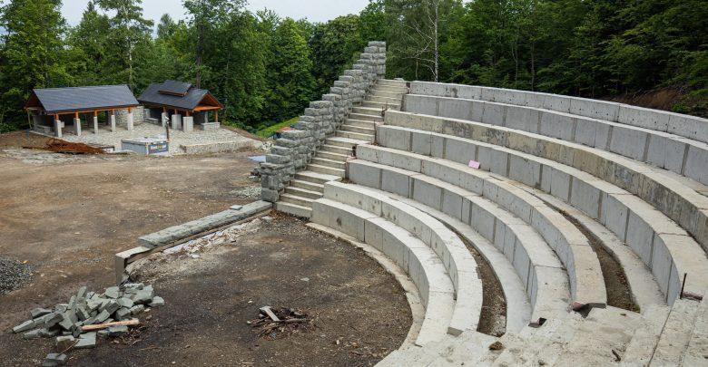 Bielsko-Biała: Wznowiono prace przy budowie amfiteatru w Lipniku. Ma być gotowy jesienią (fot.UM Bielsko-Biała)