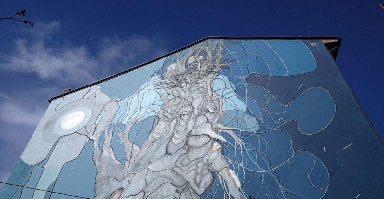 Bielsko ma nowy mural. To prawdziwa petarda. Fot. UM Bielsko-Biała