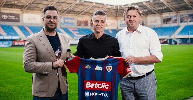 W rozpoczynającym się już w piątek sezonie 2021/2022, przy Okrzei 20 zagra Damian Kądzior! (fot.GKS Piast Gliwice)