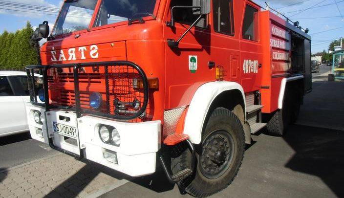 W Jaworznie można sobie kupić wóz strażacki. Przebieg? 20 tys. km. Fot. UM w Jaworznie