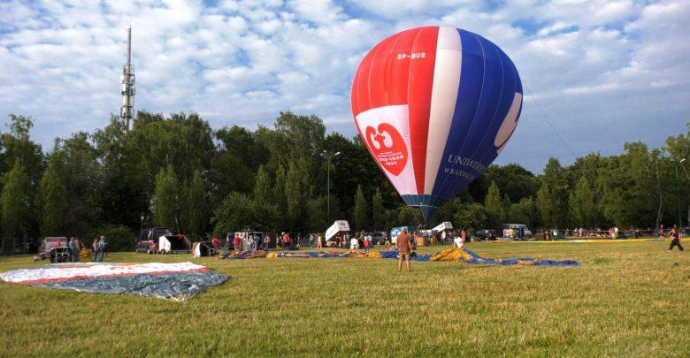 Mnóstwo balonów w Parku Śląskim z okazji 100-lecia Powstań Śląskich [WIDEO]