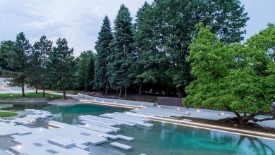 Ogród Japoński w Parku Śląskim już czynny. Otworzył go premier Morawiecki (fot.slaskie.pl)