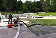 Zwiedzający zaorali Ogród Japoński w Parku Śląskim. Trwa sprzątanie po nich, atrakcja na dwa dni zamknięta