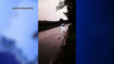 Z małej rzeczki ogromna rzeka i powódź! Po burzach zalało tereny w powiecie raciborskim