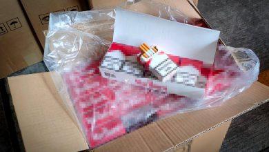 Lewe papierosy trafiły z Chin do Polski. Jest tego aż 10 milionów sztuk! (fot.policja.pl)