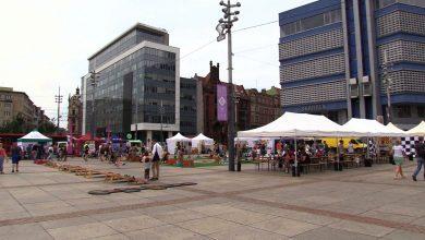 Spotkajcie się z Telewizją TVS! Piknik Rodzinny na rynku w Katowicach