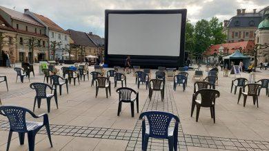 Kino plenerowe na pszczyńskim rynku. Najbliższe już jutro (fot.UM Pszczyna)