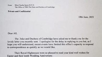 Uczniowie z Bielska napisali do księżnej Kate i księcia Williama. Dostali odpowiedź. Fot. UM Bielsko-Biała