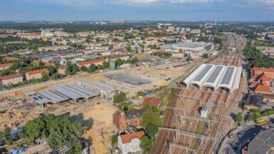 Gliwice: Budowa Centrum Przesiadkowego. Co słychać na placu robót? (fot.UM Gliwice)