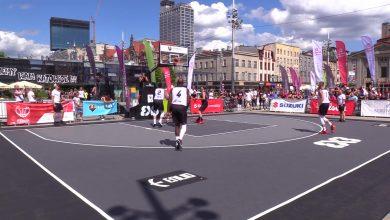 Turniej koszykówki 3x3 na katowickim rynku [WIDEO]