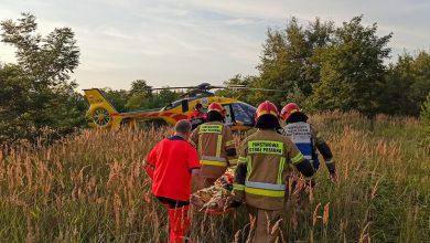 Wypadek na Pogorii IV! Motorówka zderzyła się ze skuterem wodnym! Są ranni (fot.KP PSP Będzin)