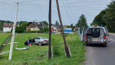 Pościg policyjny w Brennej! 30-latek napadł na sklep [ZDJĘCIA] Fot. Policja Śląska
