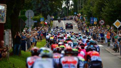 Phil Bauhaus (Bahrain-Victorious) wygrał premierowy odcinek 78. edycji Tour de Pologne z Lublina do Zamościa (fot.Biuro Prasowe Lang Team)