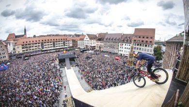Red Bull Roof Ride w Katowicach! Będą jeździć po dachu MCK, fot. Marc Muller, UM Katowice