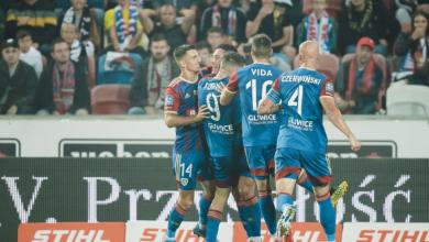 Piłkarze Piasta Gliwice zwyciężyli w Derbach Śląska! (fot.UM Gliwice)