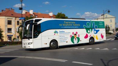 W dniu 18 sierpnia mobilny punkt diagnostyczny będzie czekał na mieszkańców Częstochowy w godzinach 8:00-16:00 na Placu Biegańskiego. [fot. UM Częstochowa / Zentiva]