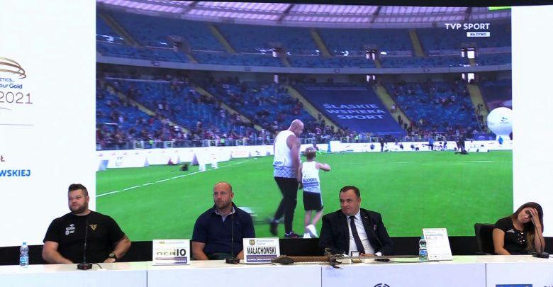 W niedzielę na Stadionie Śląskim z kibicami pożegnał się dwukrotny wicemistrz olimpijski w rzucie dyskiem Piotr Małachowski