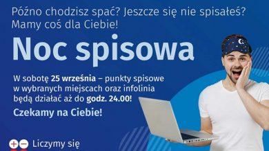 W sobotę noc spisowa. Ostatni gwizdek, żeby wziąć udział w spisie powszechnym. Fot. Slaskie.pl