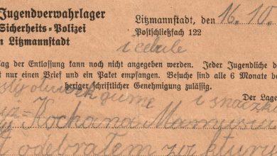 Łzy same cisną się do oczu. Odkryto listy dzieci więzionych w niemieckim obozie koncentracyjnym w Łodzi (fot.MKDNiS)