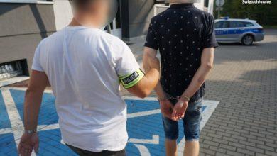 """Kierowca z Rudy Śląskiej ma dopiero 19 lat, a nawywijał jak filmy """"Mistrz kierownicy"""" (fot.policja)"""