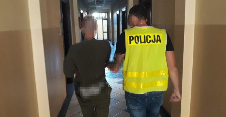 Policja z Tarnowskich Gór zatrzymała seryjnego podpalacza. Fot. Policja Śląska