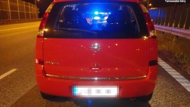 Śląskie: Zaparkował na autostradzie i zasnął. Miał 3 promile (fot.Ślaska Policja)