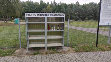 Darmowe znicze na cmentarzach w Tychach. Fot. UM Tychy