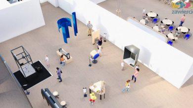 Centrum powstanie w budynku Dworca PKP w Zawierciu. Projekt finansowany jest przez Ministerstwo Edukacji i Nauki. [fot. UM Zawiercie]
