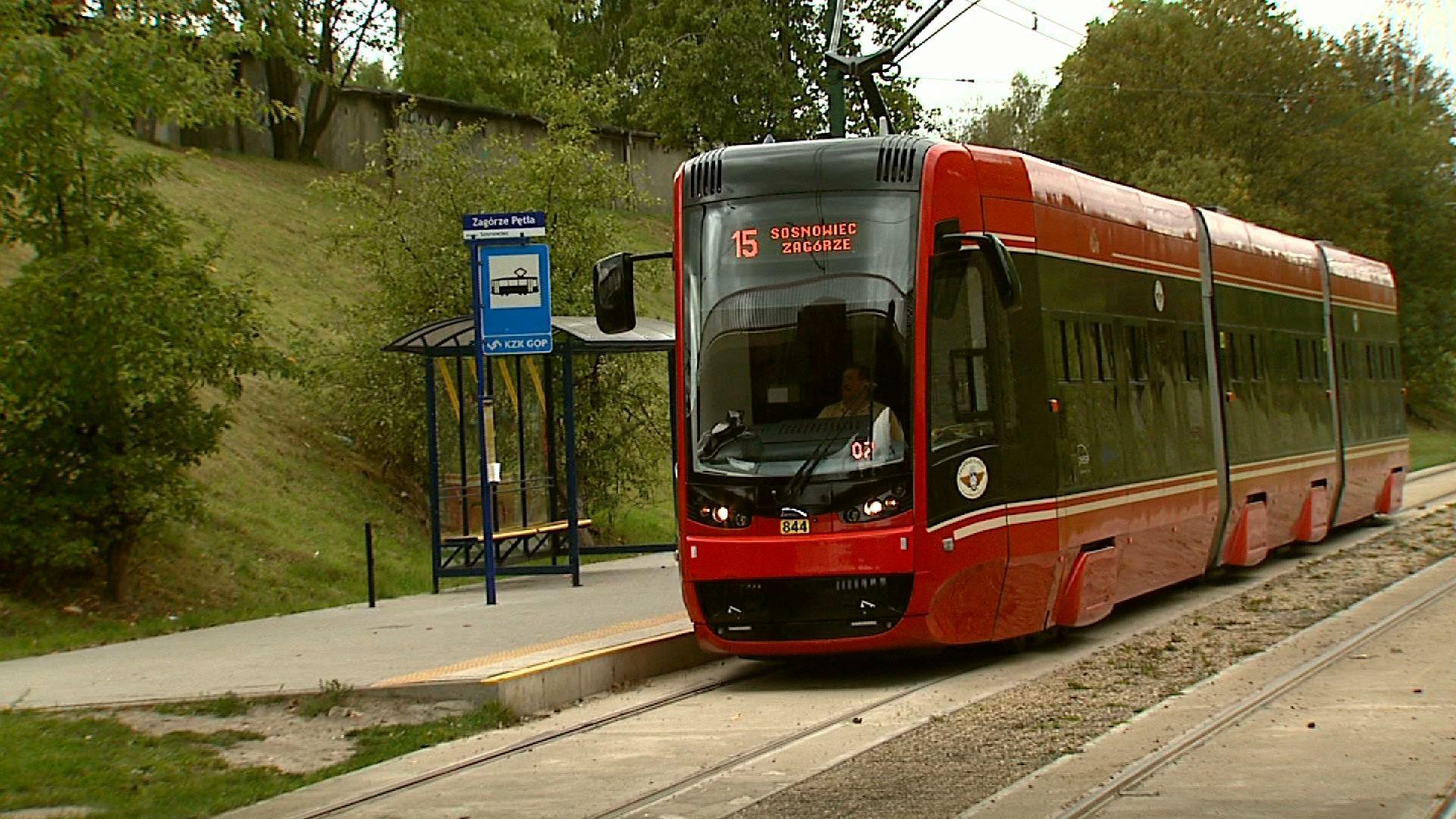 Znalezione obrazy dla zapytania tramwaje linia 15 zagórze