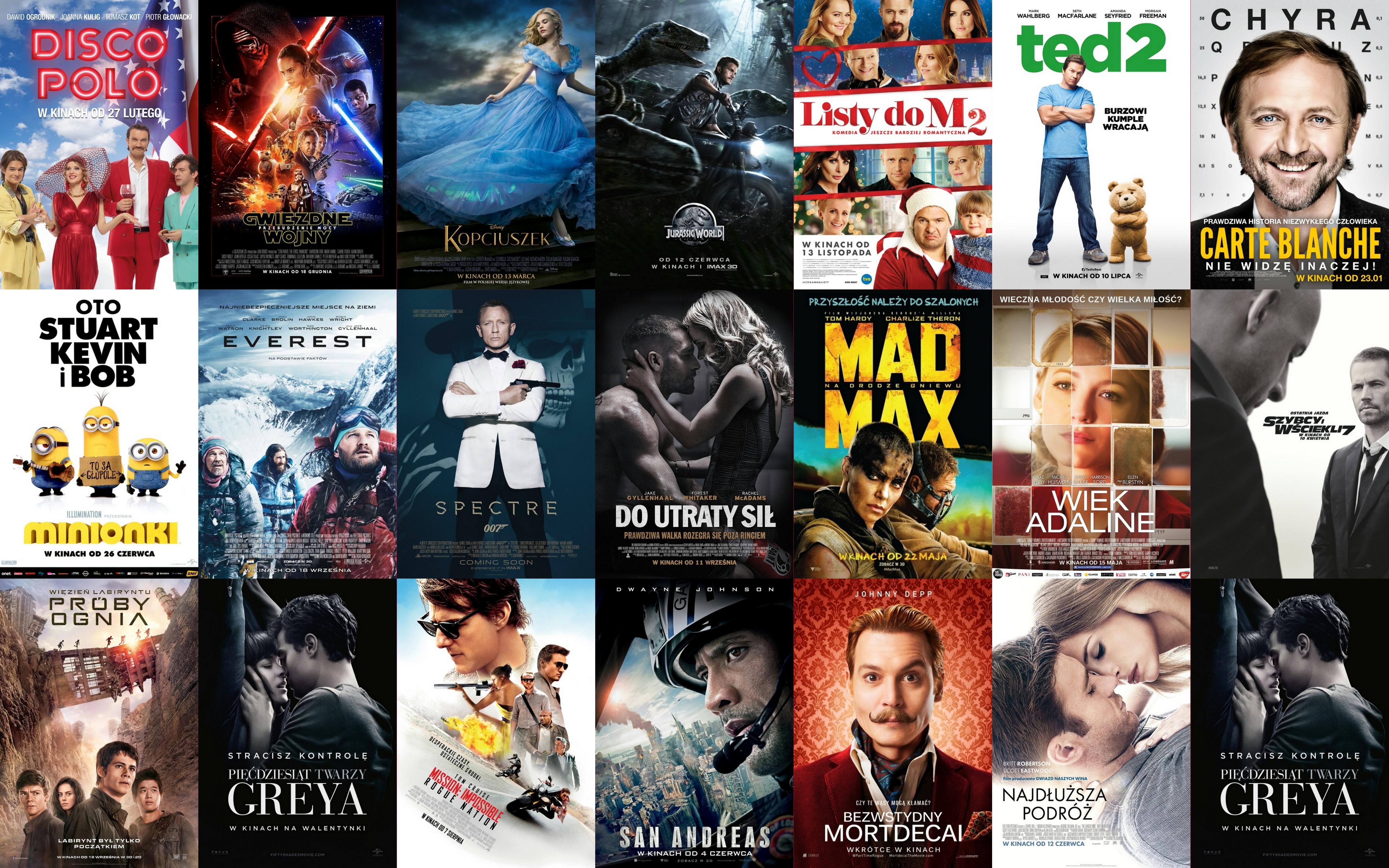 Top 20 Najlepsze Premiery Kinowe 2015 To Jeszcze Musisz