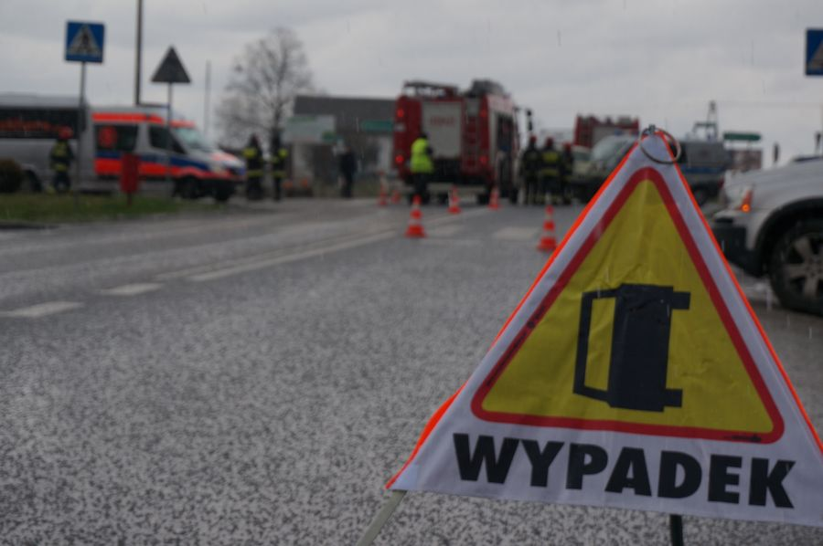 Motocyklista zginął w zderzeniu z busem. Śmiertelny wypadek na wiślance w Warszowicach (fot.poglądowe - archiwum)