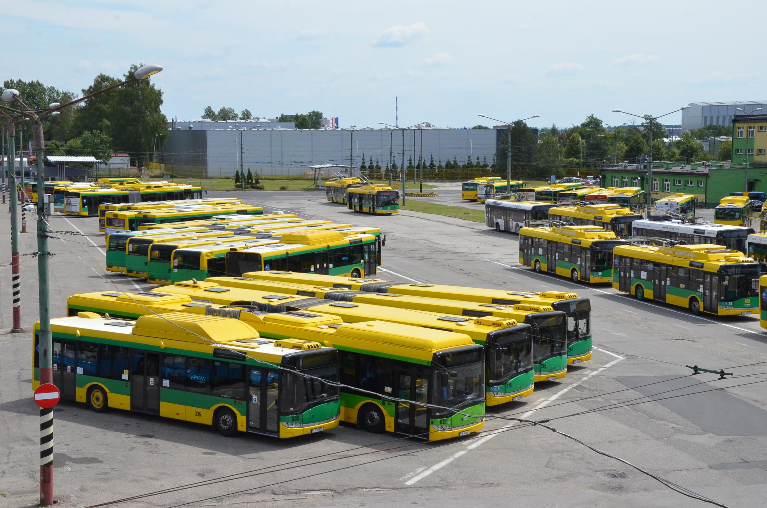 Tychy: Strona www.mzk.pl już nie istnieje. Rozkład jazdy autobusów znajdziecie teraz na stronie www.metropoliaztm.pl (fot.poglądowe)